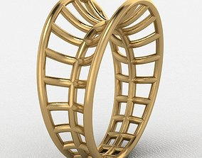 Lace ring 3D printable model lace