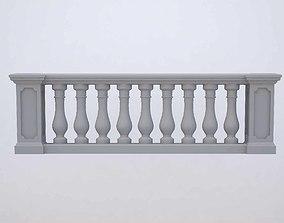 3D model fence Balustrade