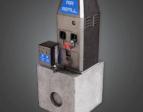 3D model Air Pump Outdoor - SAM - PBR Game Ready