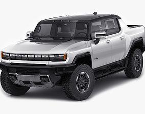 Hummer EV Electric pick-up 2022 3D model