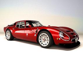 Alfa Romeo Giulia TZ2 - 1965 3D asset