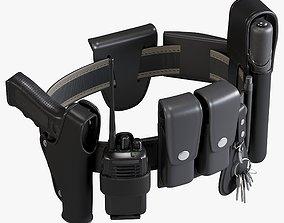 Police Belt 3D model