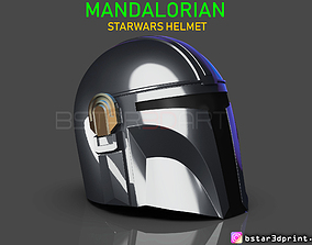 3D printable model MANDALORIAN HELMET - STAR WARS movie
