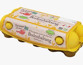 food Egg Carton 3D model