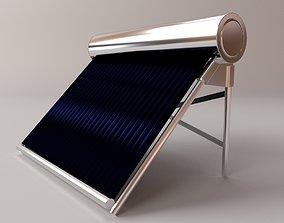 3D model Water Heating Solar Panel