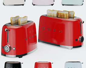 Smeg Toaster TSF01 and TSF02 3D model