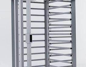 3D model Digicon turnstile door