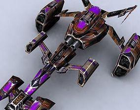 realtime 3DRT - Sci-Fi Fighters Fleet - Fighter 5