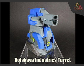 3D print model Volskaya Industries Turret from Heroes of 1