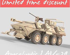 3D model Apocalyptic LAV 25
