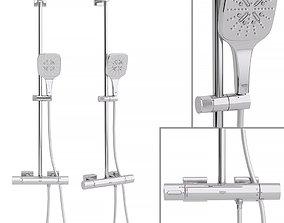 3D model Shower system Grohe Rainshower Smartactive Cube