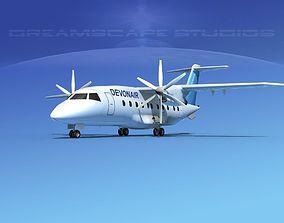 Dornier Do-328-130 Devon Air 3D model