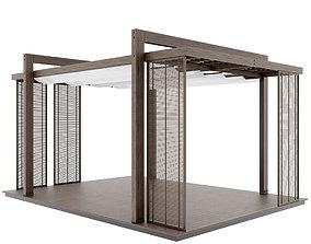 3D Pergola construction