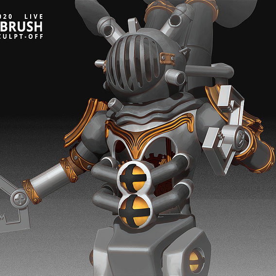 ZBrush Sculpt Off ZBrush Summit 2020