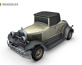 3D model Car roadster