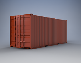 6 Meter Shipping Container Model Kit