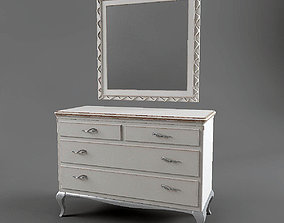 The chest of drawers Frari 3D asset