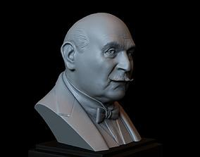 Hercule Poirot - David Suchet - 3D printable model 1