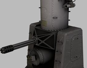 3D model realtime Phalanx CIWS