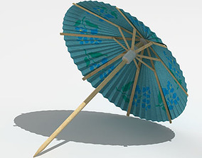 Umbrella drinks 3D