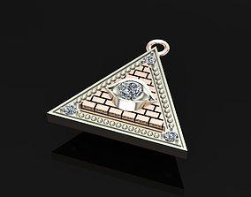 3D print model pyramid