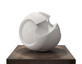 3D model James Oughtibridge White Convex Form