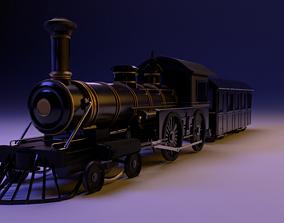 3D model Western Train