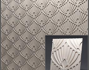 Gypsum 3D panel 35