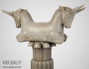 Persepolis bull column 3D