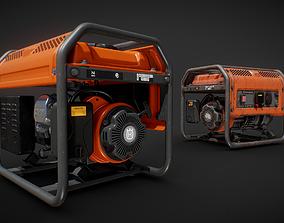 Husqvarna Generator 3D asset