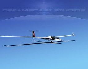3D model Glaser-Dirks DG-300 Glider V07
