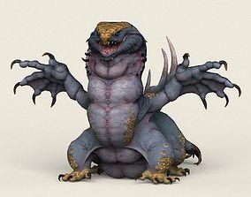 3D asset Game Ready Fantasy Monster