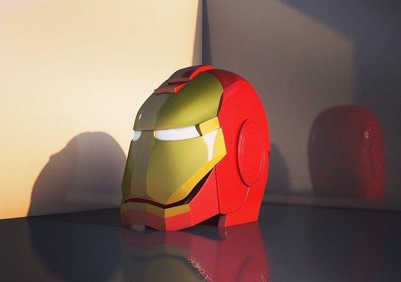 Mask iron man