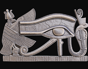 Eye of Ra or horus for CNC Router 3D print model