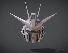 Impulse Gundam Head 3D printable model