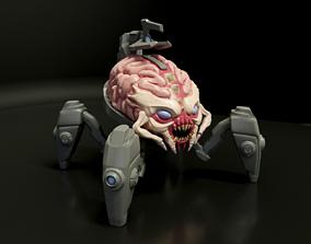 3D printable model Arachnotron Toy - Doom Eternal