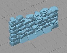 3D print model Stone Wall