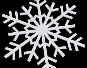 Snowflake storm 3D printable model