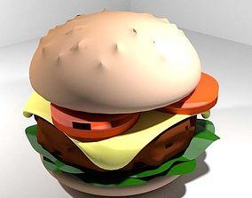 3D model Fastfood - Burger
