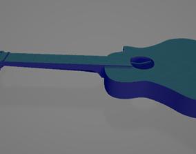 Guitar 3D asset instrument