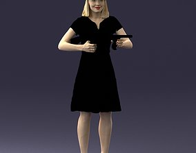 Gangster girl 0921 3D Print Ready