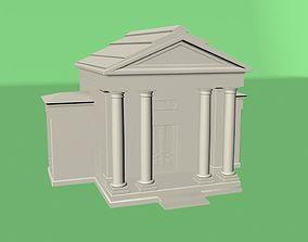 Mausoleum 3D printable model