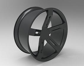 3D model Car Rim carelement