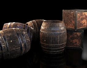 3D Barrels and Box barrel