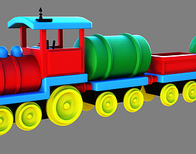 3D Toy train