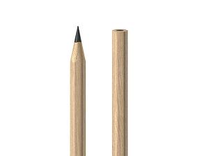 3D wood Pencil