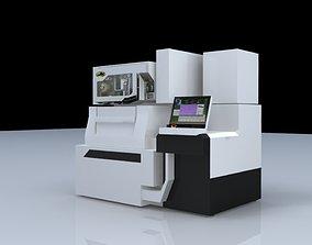 numerical control machining 3D model