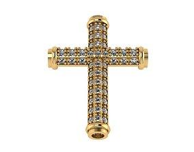 3D printable model necklace Cross Pendant stl