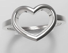 Heart Ring cardiovascular 3D print model