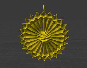 3D print model Lover Sun Necklace Pendant 9